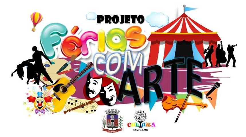 FERIAS COM ARTE com logo