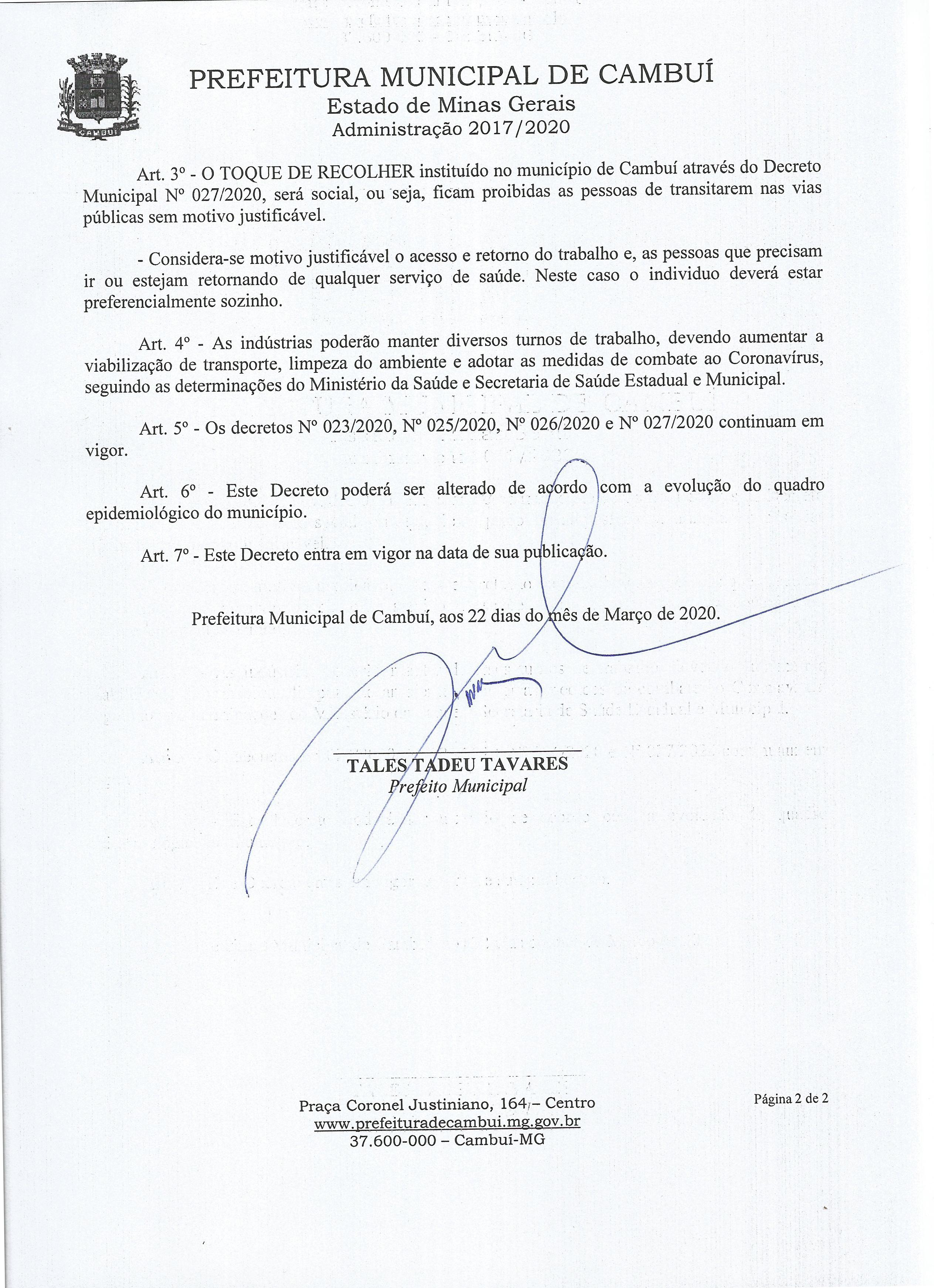 Decreto 028.2020.02