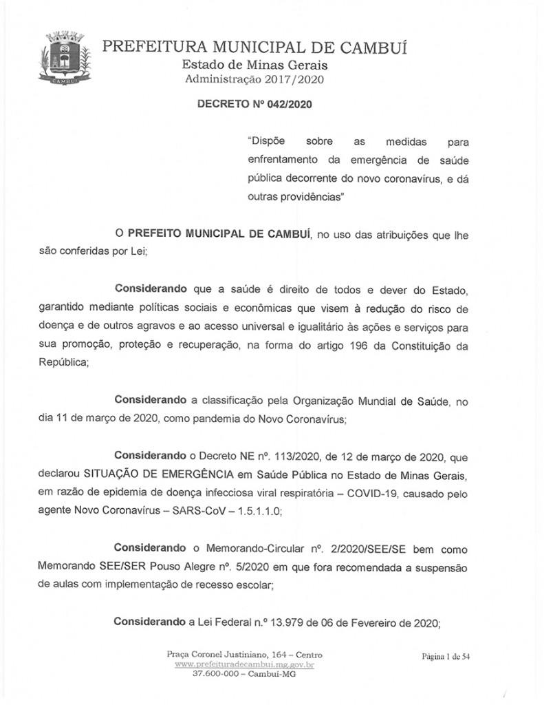 Decreto 042-1
