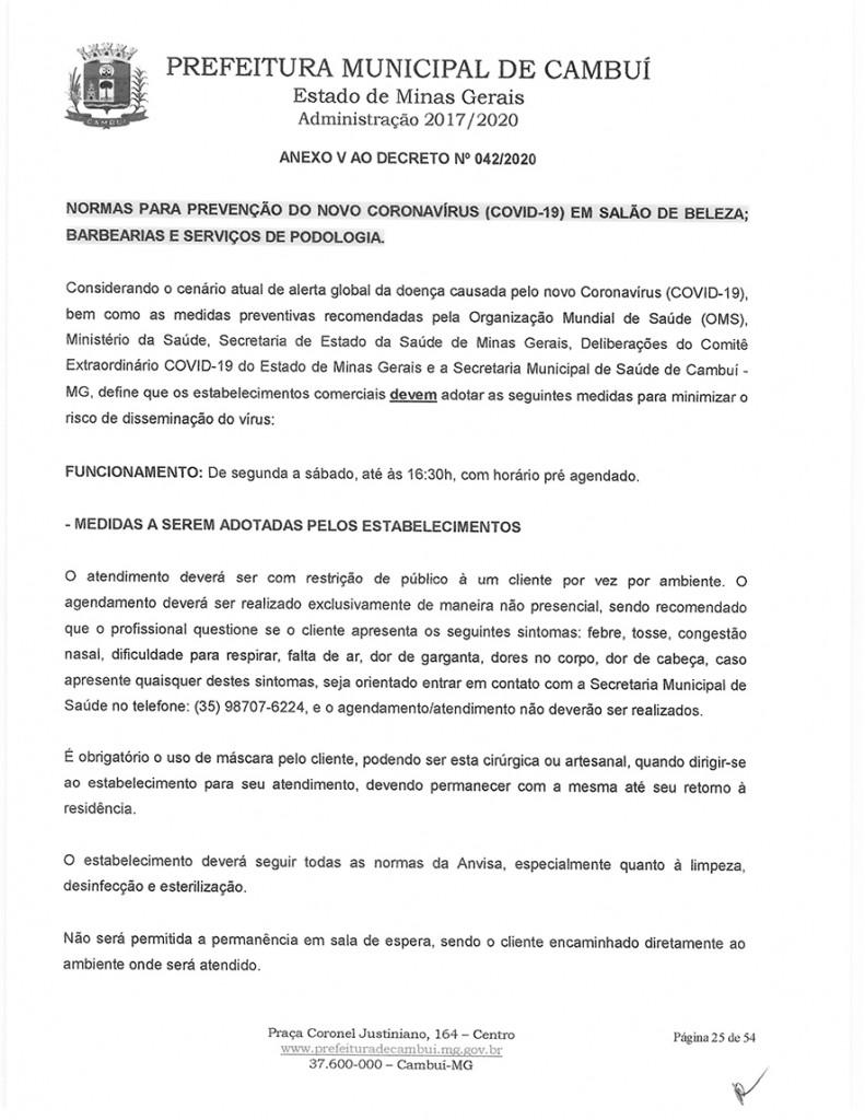 Decreto 042-25