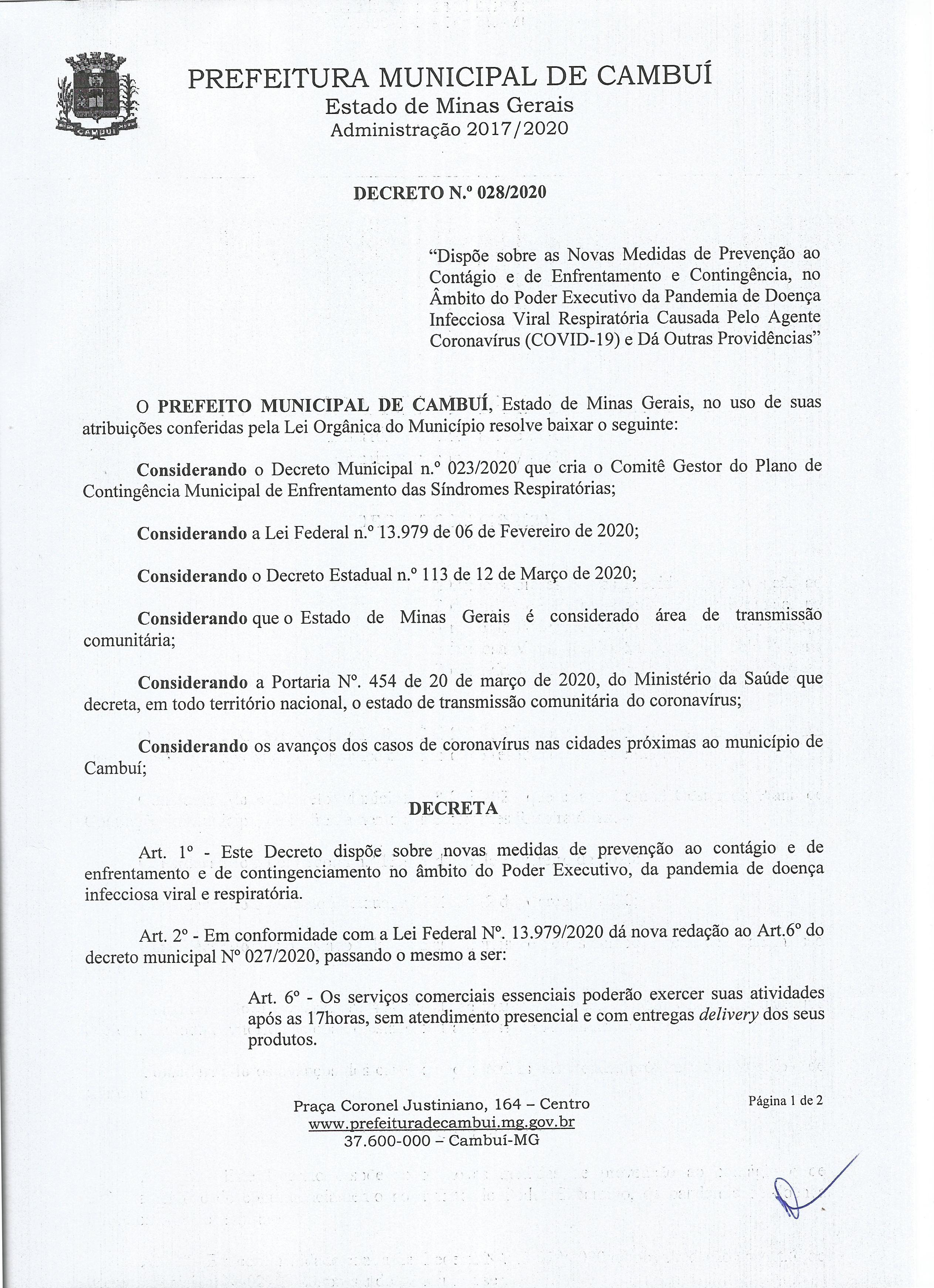 Decreto 28.2020.01