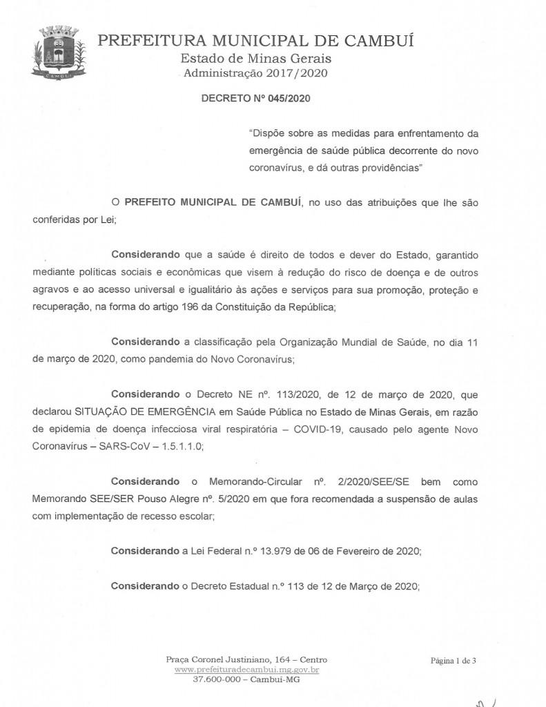 Decreto 045_01