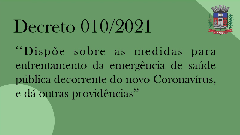 Decreto 10/2021