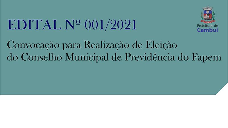 [ FAPEM ] RETIFICAÇÃO – Edital 001/2021