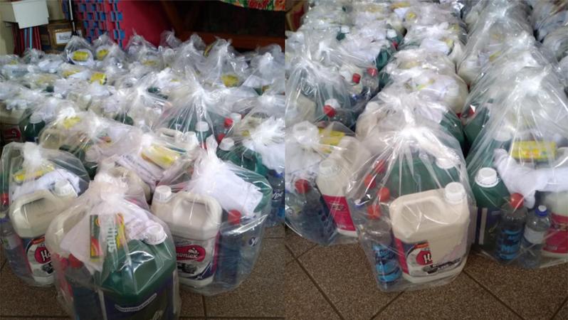 Prefeitura realiza entrega de Kits para famílias carentes