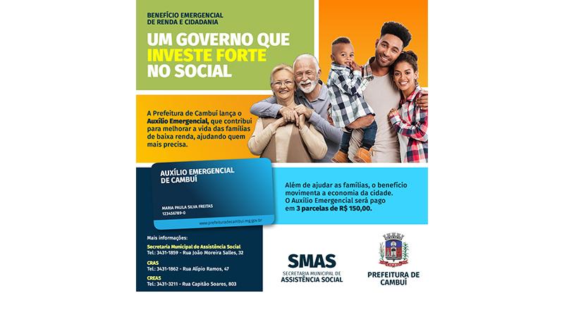 PREFEITURA REALIZARÁ ENTREGA DE CARTÕES DO AUXÍLIO EMERGENCIA MUNICIPAL